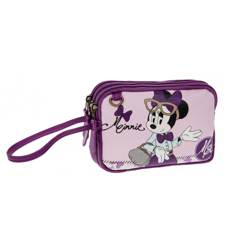 Comprar Minnie Mini neceser Minnie Rosa Glam