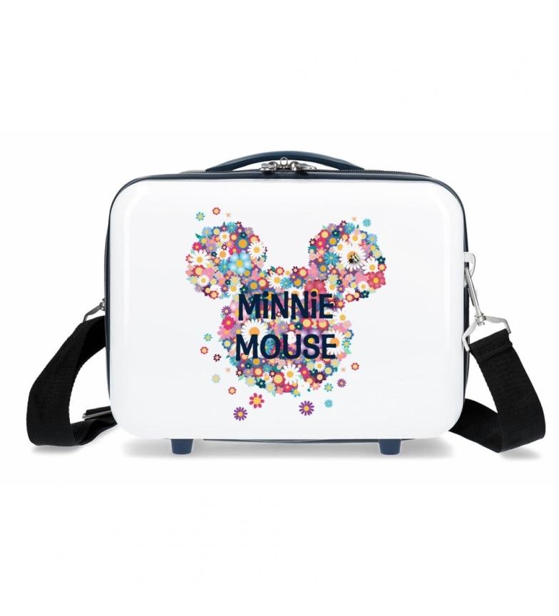 Comprar Minnie Saco Sanitário ABS Minnie Sunny Day Flores Azul -29x21x15cm