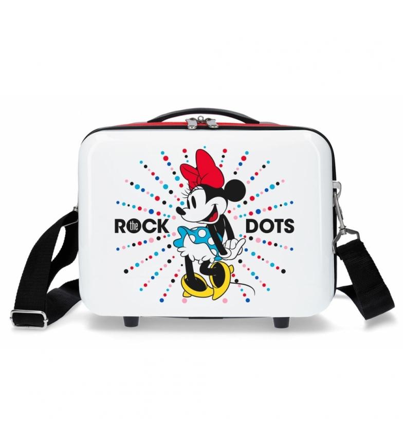 Comprar Minnie Neceser adaptable a trolley Minnie Magic dots -29x21x15cm-