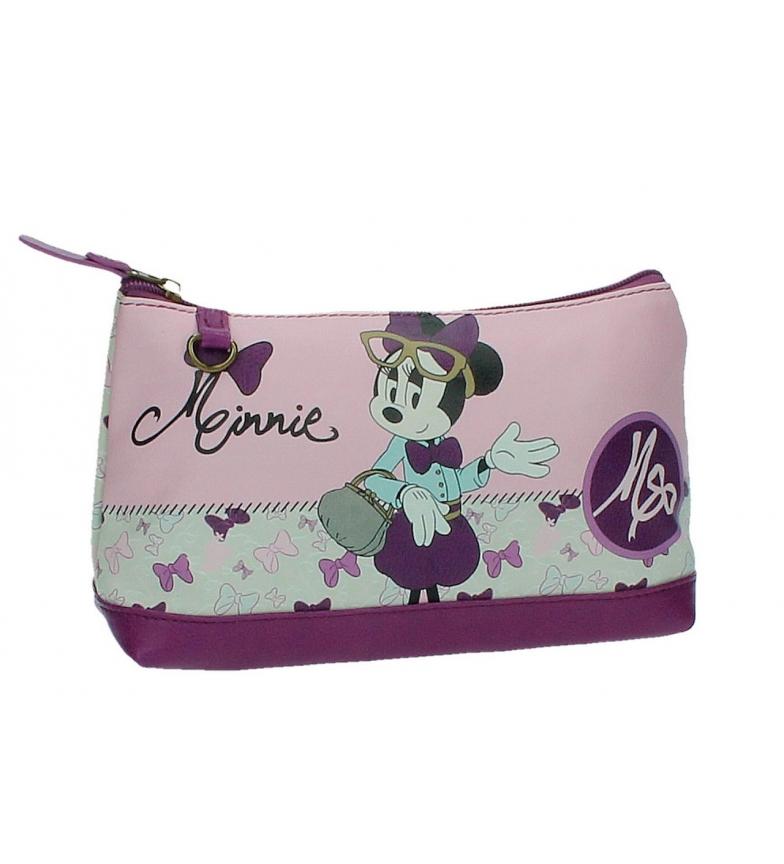 Comprar Minnie Neceser Minnie Glam rosa -22x13x7,5cm-