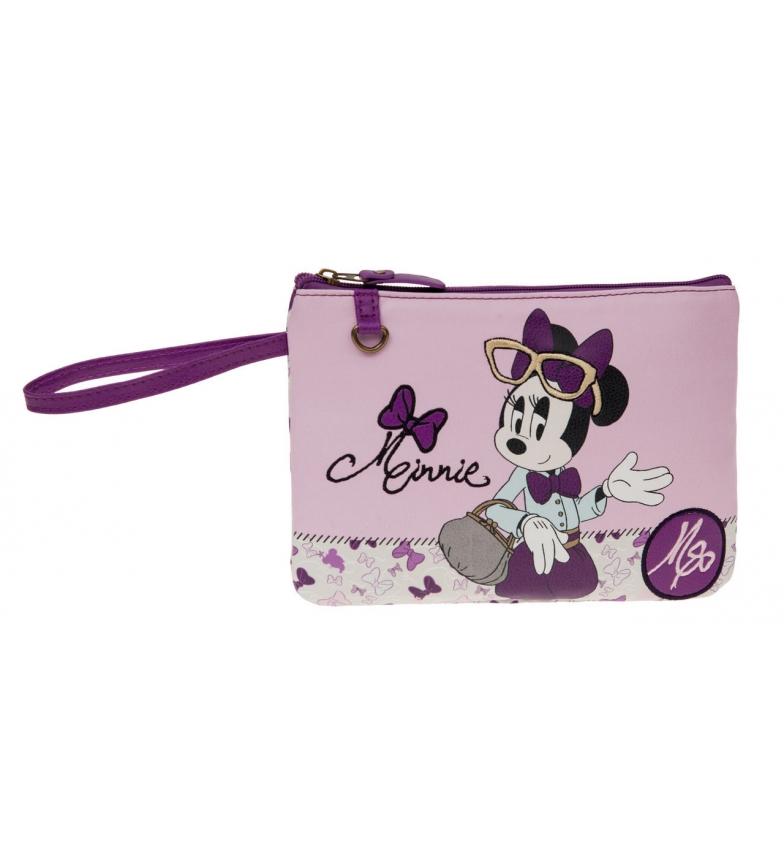 Comprar Minnie Minnie bolsa de higiene rosa Glam Asa Side