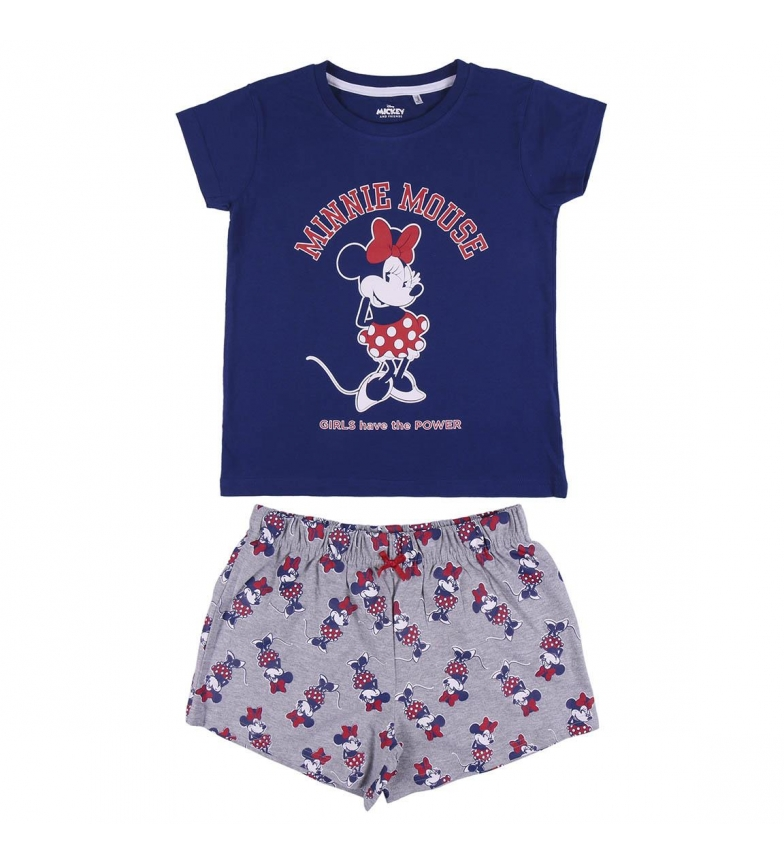 Comprar Cerdá Group Pijama Short Minnie azul, cinza