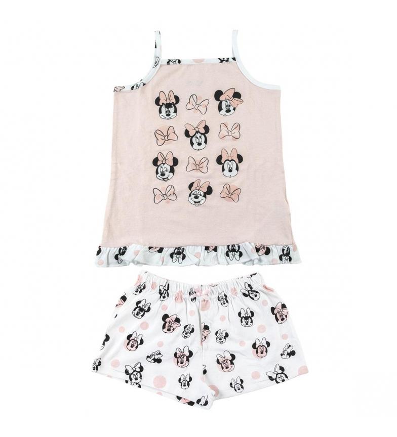 Comprar Cerdá Group Pijama Corto Tirantes Single Jersey Minnie rosa