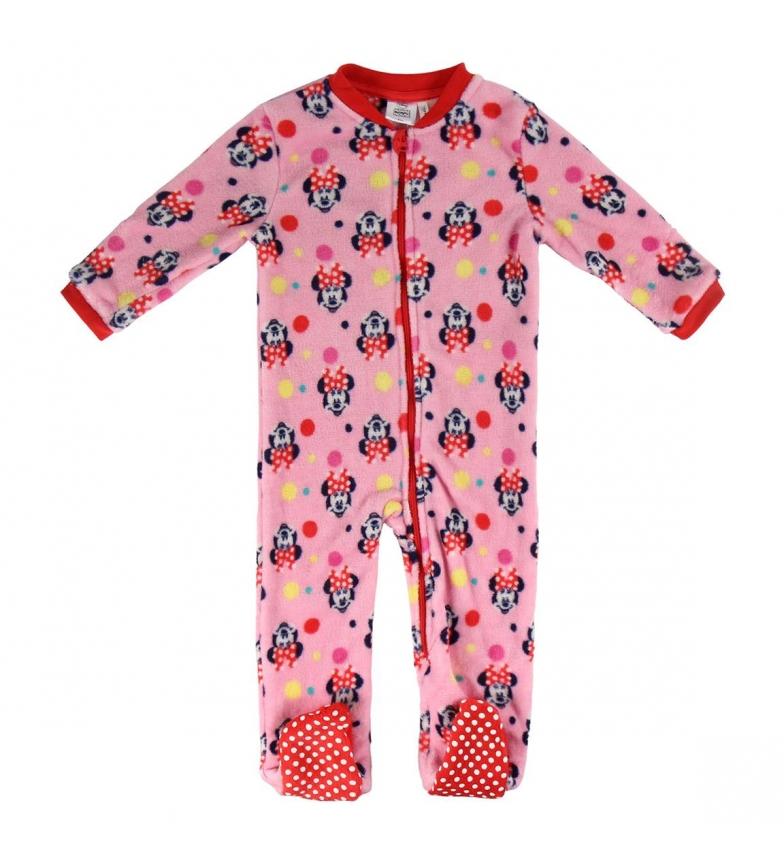 Comprar Minnie Pijama Dormilón Coral Fleece Minnie rosa