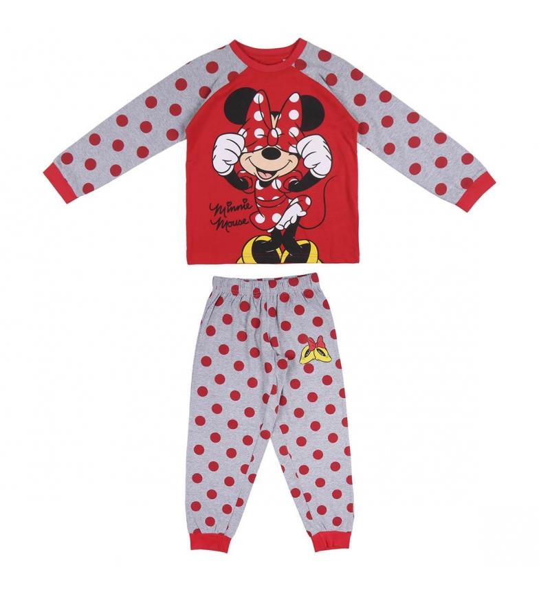 Cerdá Group Pijama Minnie vermelho