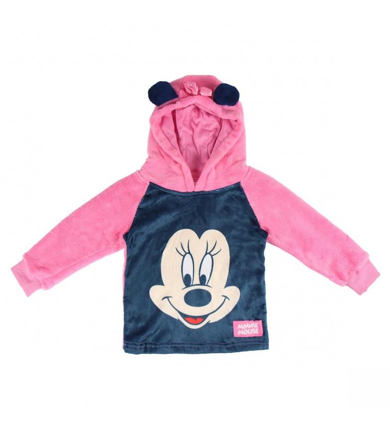 Comprar Minnie Felpa con cappuccio Coral Flece Minnie rosa, blu scuro