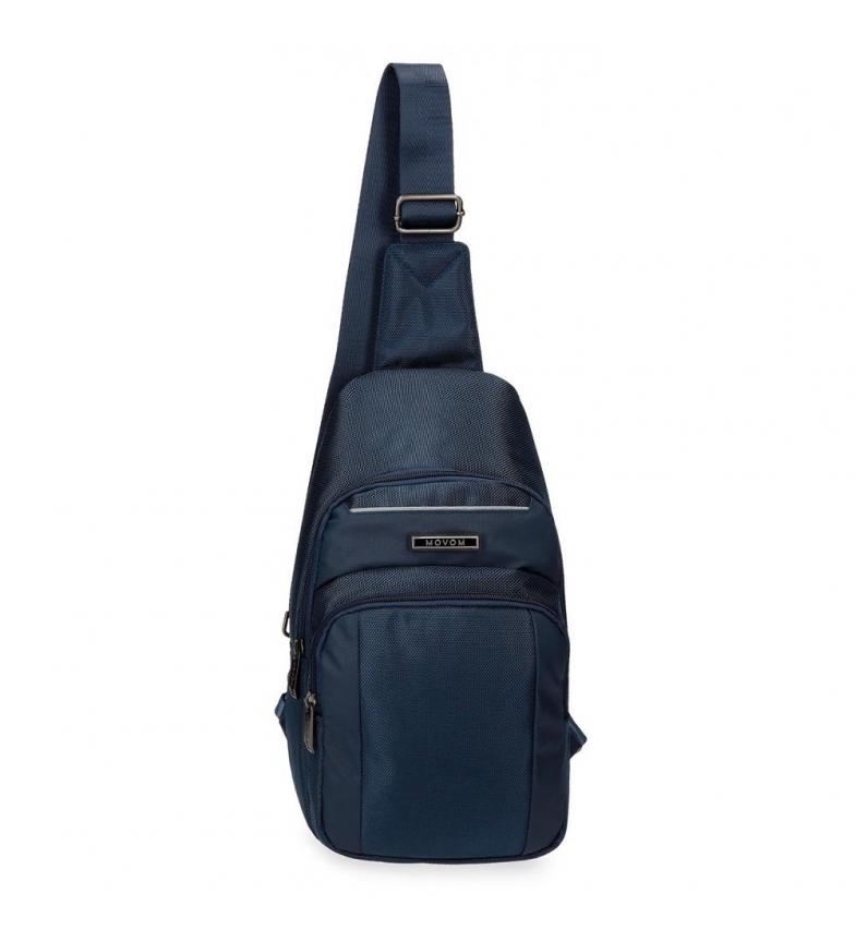 Comprar Movom Alça de ombro cruzada Movom Clark azul -19x34,5x8,5cm