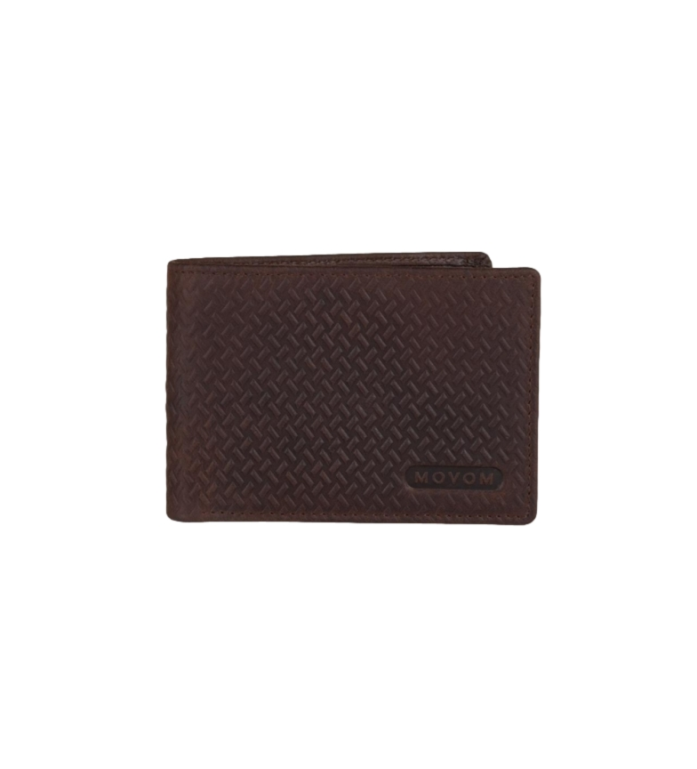 Comprar Movom Leather Wallet Movom Capsule horizontal with Removable Wallet Brown -11x8.5x1cm-