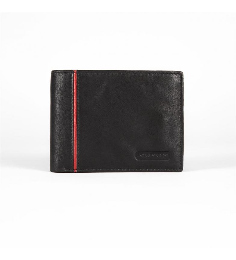 Comprar Movom Billetera de piel Movom Capsule horizontal con Billetera extraible Negro -11x8.5x1cm-