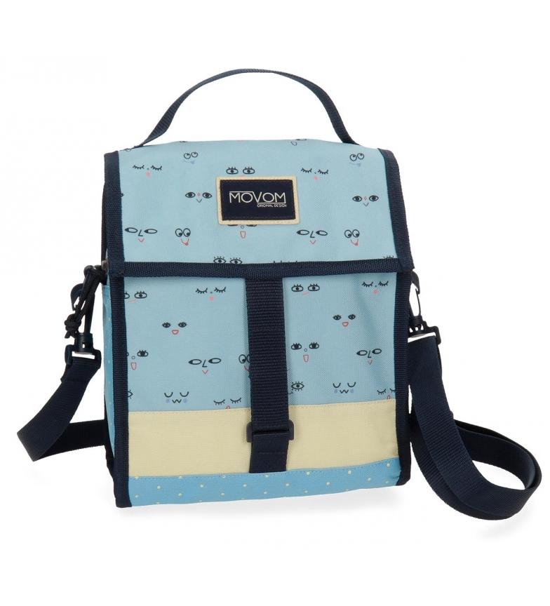 Comprar Movom Movom Wink Blue saco de comida térmica -25.5x21.5x12.5cm-