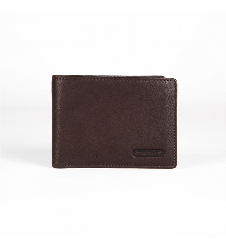 Comprar Movom Portefeuille en cuir Movom Rectangle horizontal avec bourse Brown -12.5x9.5x1cm-