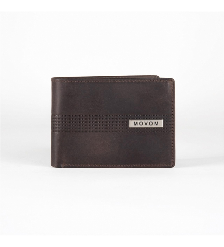 Comprar Movom Leather Wallet Movom Sport horizontal Brown -11x8x1cm-