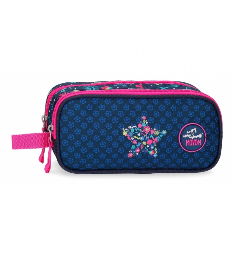 Comprar Movom Movom Nice Flowers double compartment case -23x9x7cm