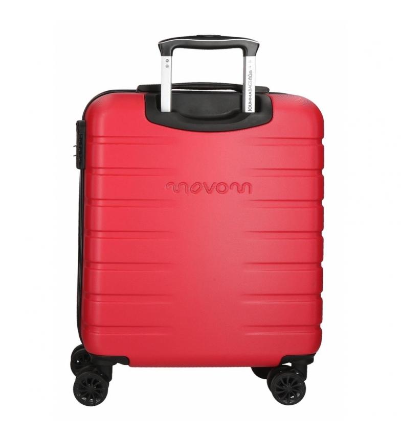 28de4a6d0 Comprar Movom Juego de 2 maletas rígidas 55-69 Movom Turbo Rojas ...
