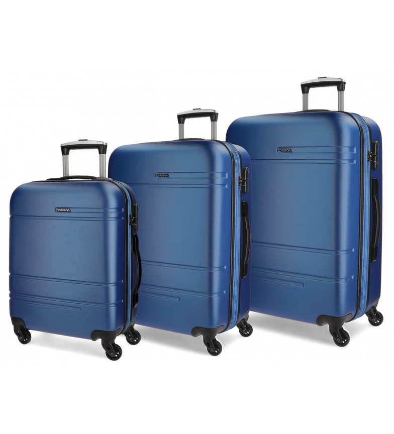 Comprar Movom Mala móvel Movom Galaxy rígida 55-68-78cm Azul
