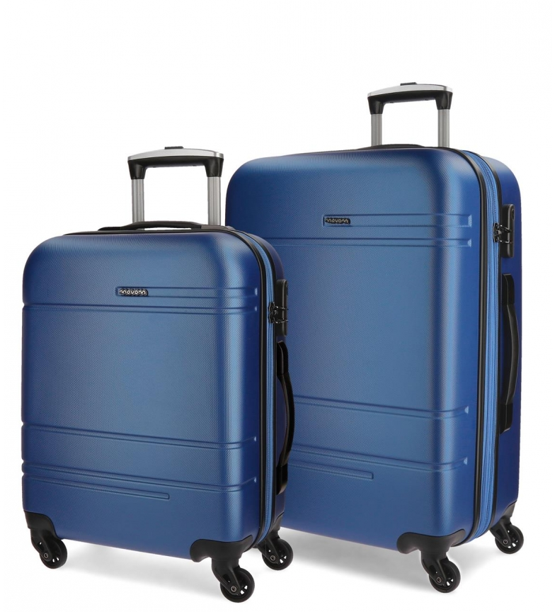 Comprar Movom Mobile suitcase Movom Galaxy rigid 55-68cm Blue