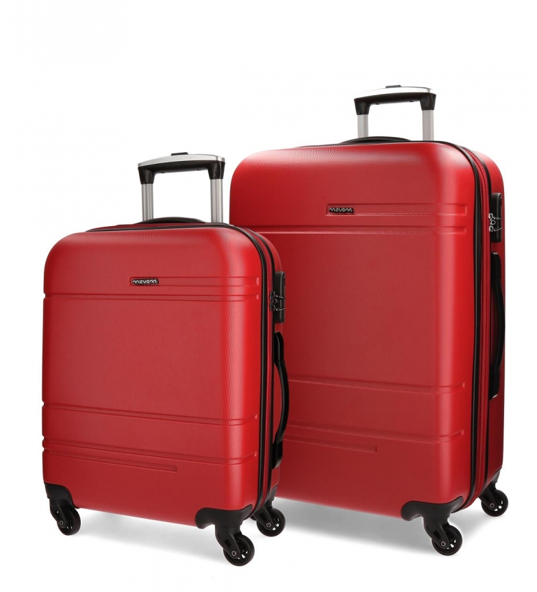 Comprar Movom Valise mobile Movom Galaxy rigide 55-68cm Rouge