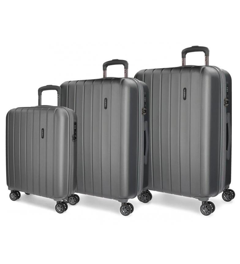 Comprar Movom Mobile suitcase Movom Wood rigid 55-65-75cm Anthracite