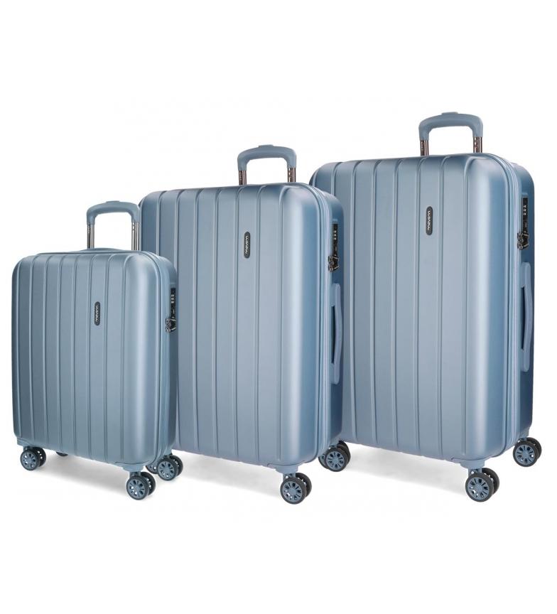 Comprar Movom Bois Luggage Set Movom 55-65-75cm rigide Plata