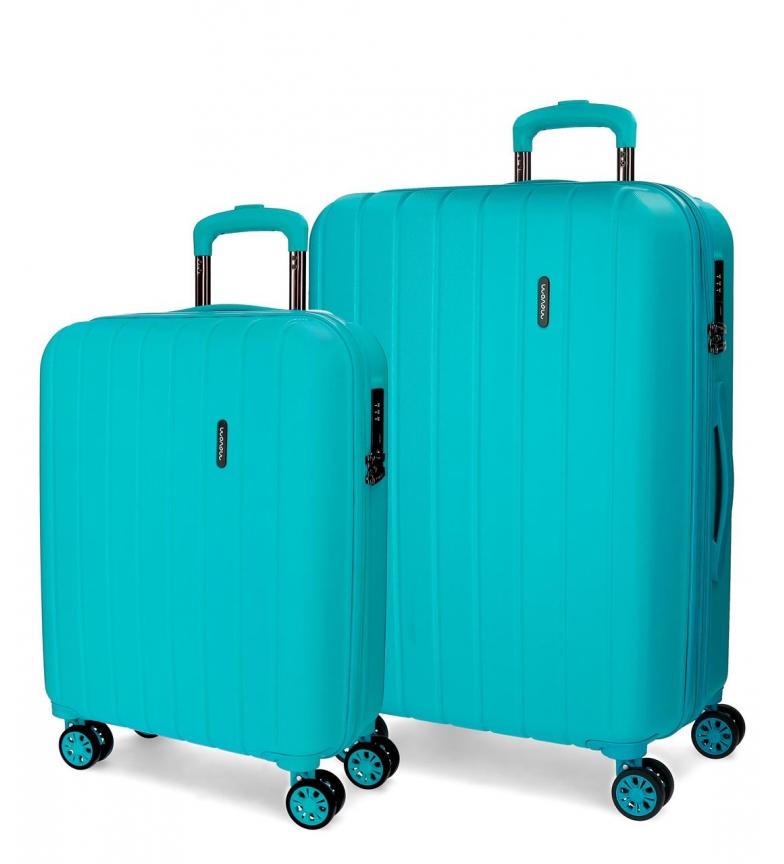 Comprar Movom Bois Luggage Set Movom rigide 55-65CM Turquoise