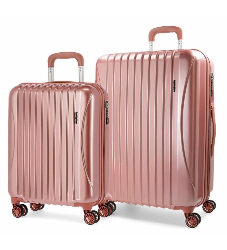 Comprar Movom Juego de maletas rígidas Movom Trafalgar Nude  -38x55x20cm / 48x67x26cm-