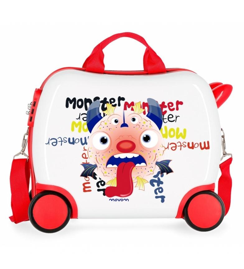 Comprar Movom Movom Monster petit étui à roulettes -34x41x20cm