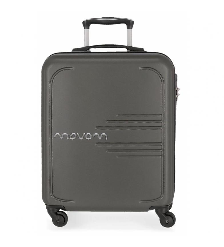 Comprar Movom Maleta de cabina rígida 55cm Movom Flash gris -55x40x20cm-