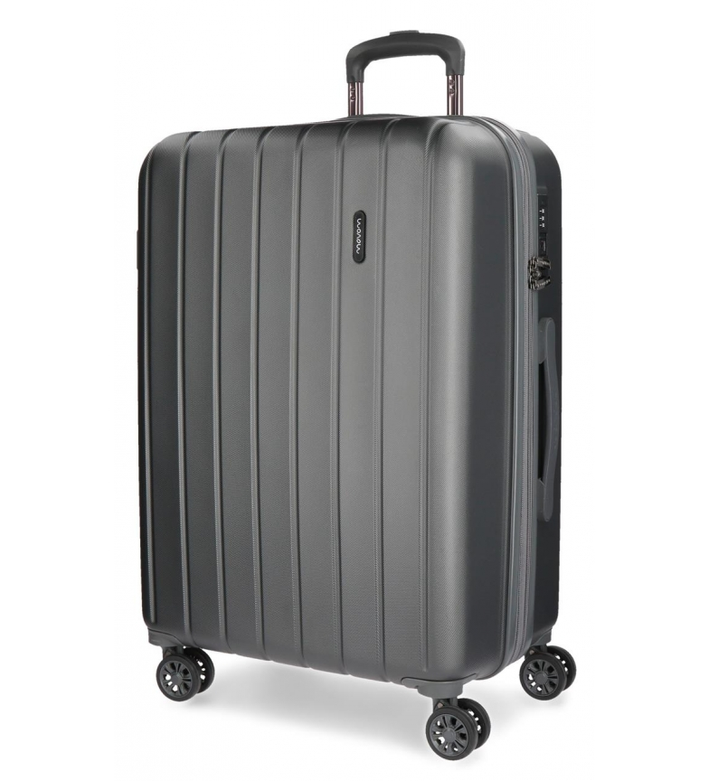 Comprar Movom Big suitcase Movom Wood rigid 75cm Anthracite