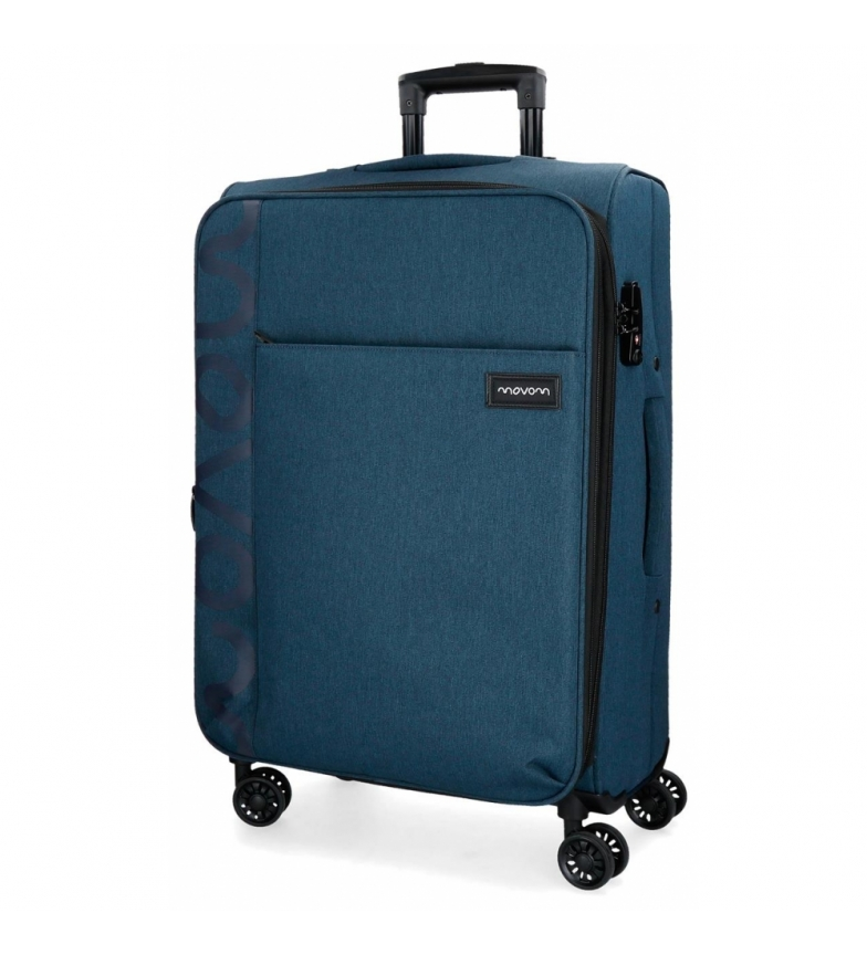 Comprar Movom Mala média 65L Movom Oslo azul marinho -69x44x26x26cm