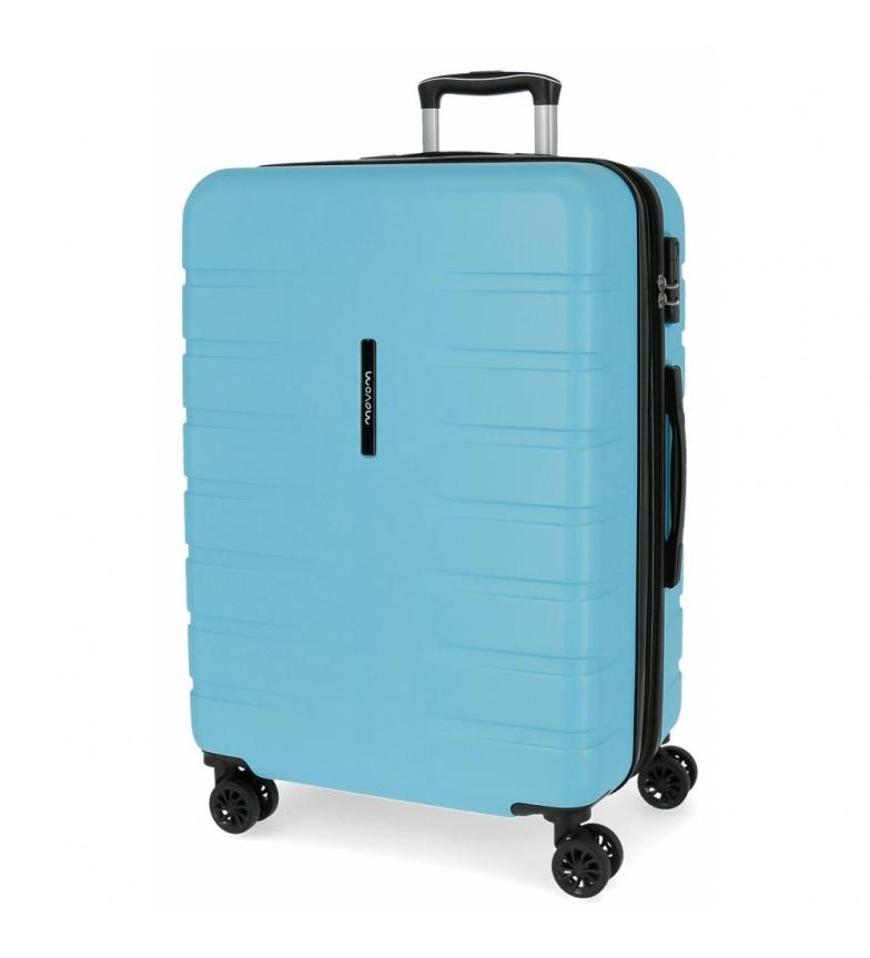 Comprar Movom Mala média Movom Turbo sky azul -69x49x49x28cm