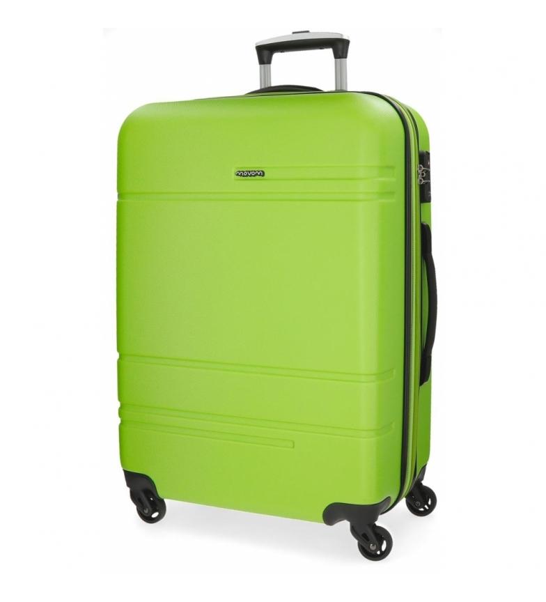 Comprar Movom Medium suitcase Movom Galaxy rigid 68cm Pistachio -48x68x27cm