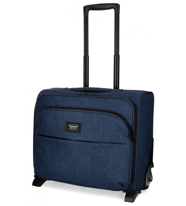 Comprar Movom Maletín con ruedas Movom Ottawa Azul -44x35x20cm-