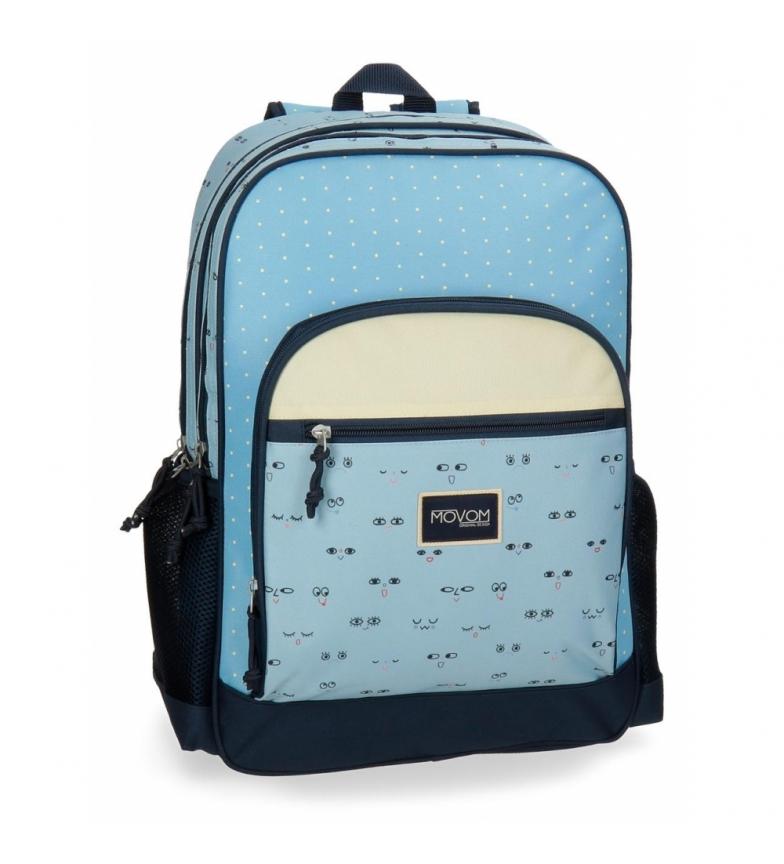 Comprar Movom Mochila móvel Movom Wink Compartimento Duplo Azul -45x32x15cm-