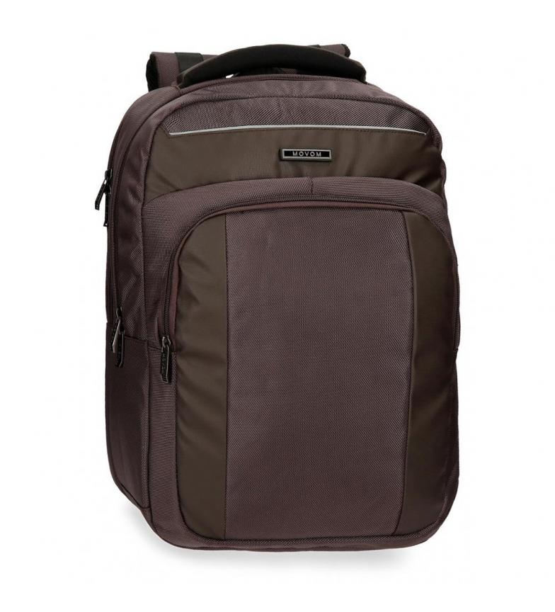 Comprar Movom Mochila para notebook 15,6 polegadas Movom Clark Brown -30x44x44x18cm