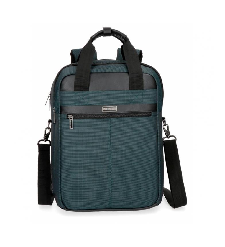 Comprar Movom Mochila para laptop Movom Business com alça azul