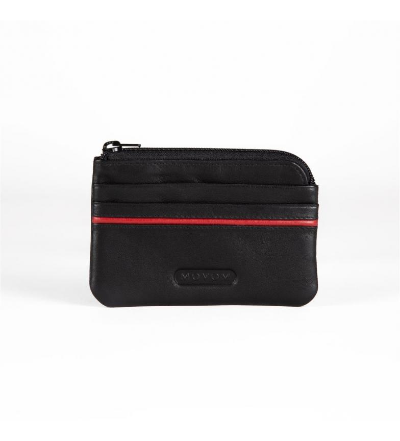 Comprar Movom Bolsa de couro Movom Capsule com suporte de cartão preto -11x7x1.5cm-