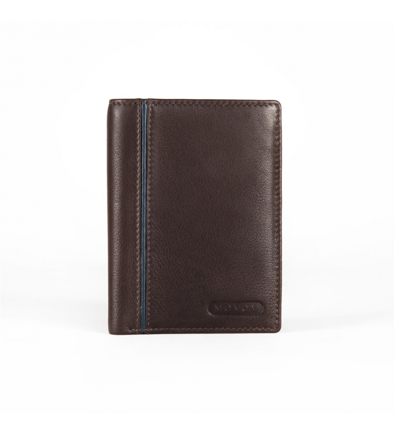 Comprar Movom Leather card holder Movom Capsule Brown -9x12.5x1cm-
