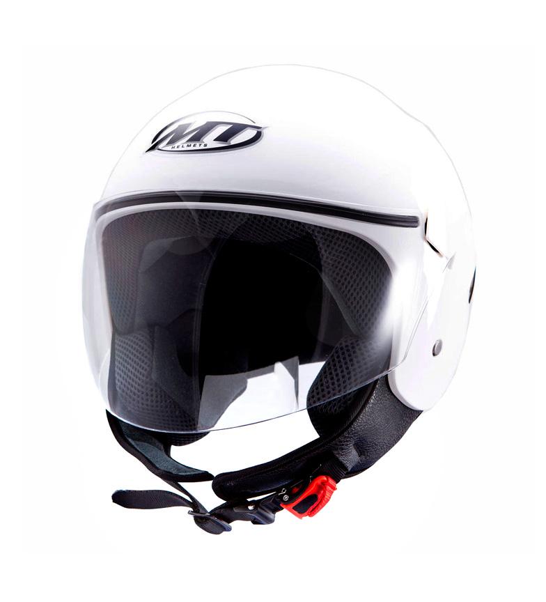 Comprar MT Helmets Casco demi-jet MT City Sport blanco
