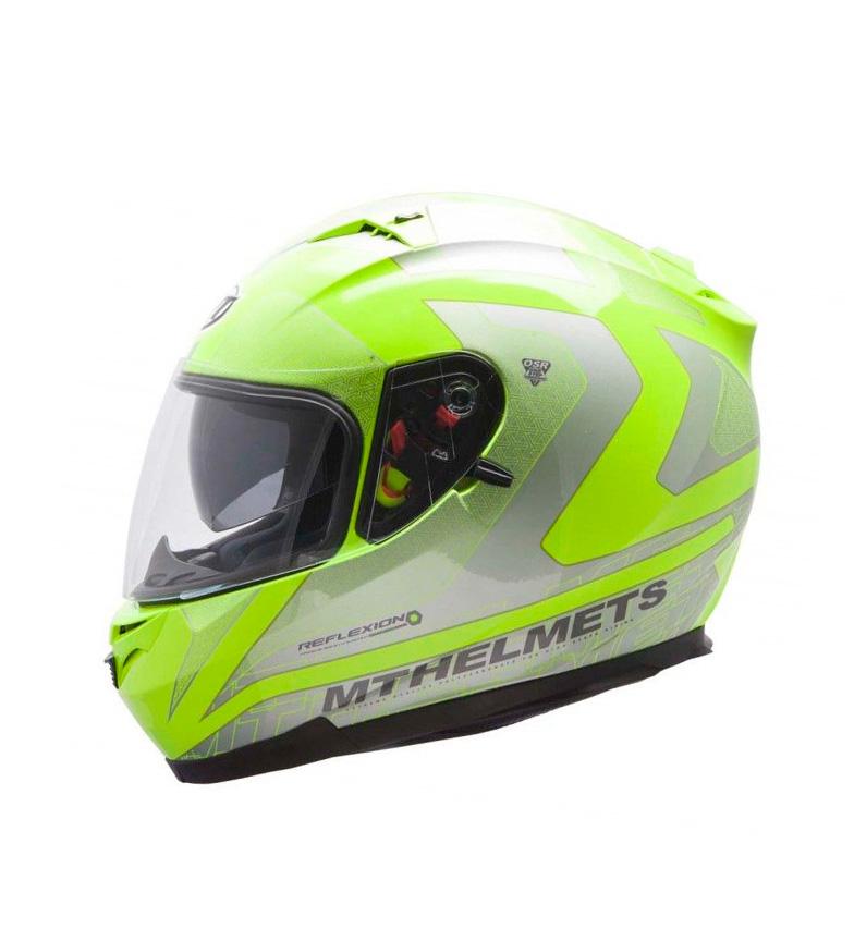 Comprar MT Helmets Casco integral MT Blade SV Reflexion amarillo fluor