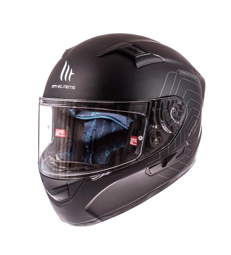 Comprar MT Helmets Casco integral MT KRE sv solid negro mate -Pinlock incluido-