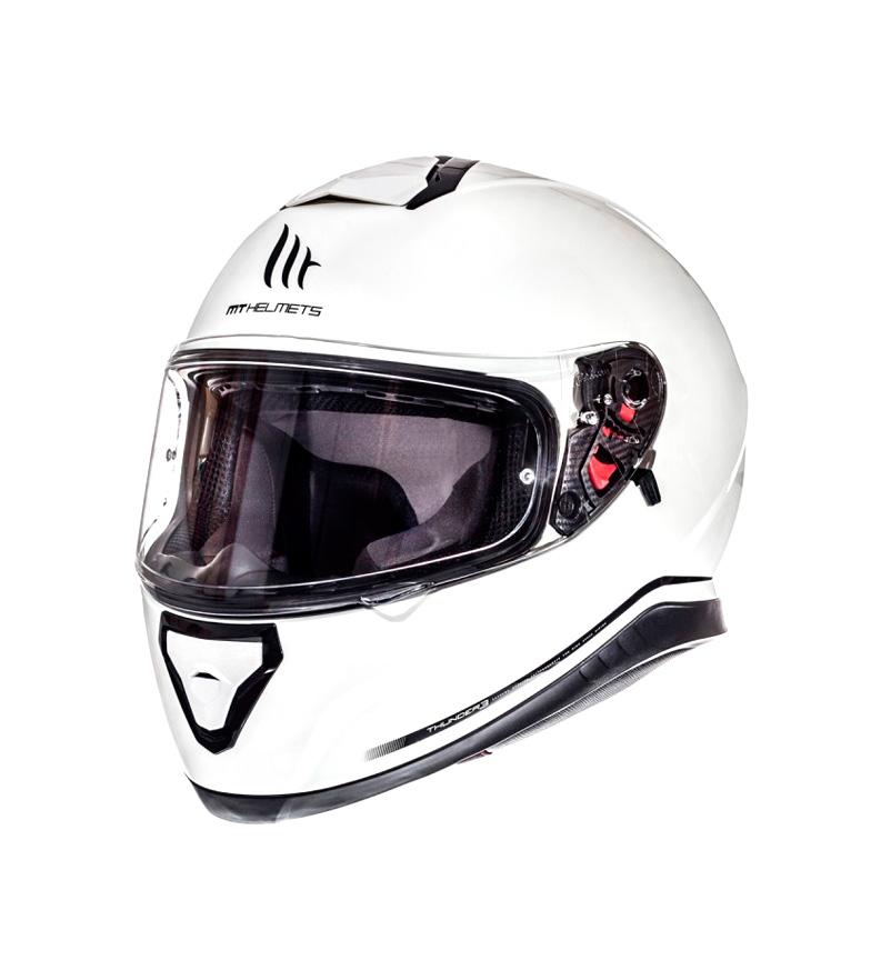 Comprar MT Helmets Casco integral MT Thunder 3 SV Solid blanco