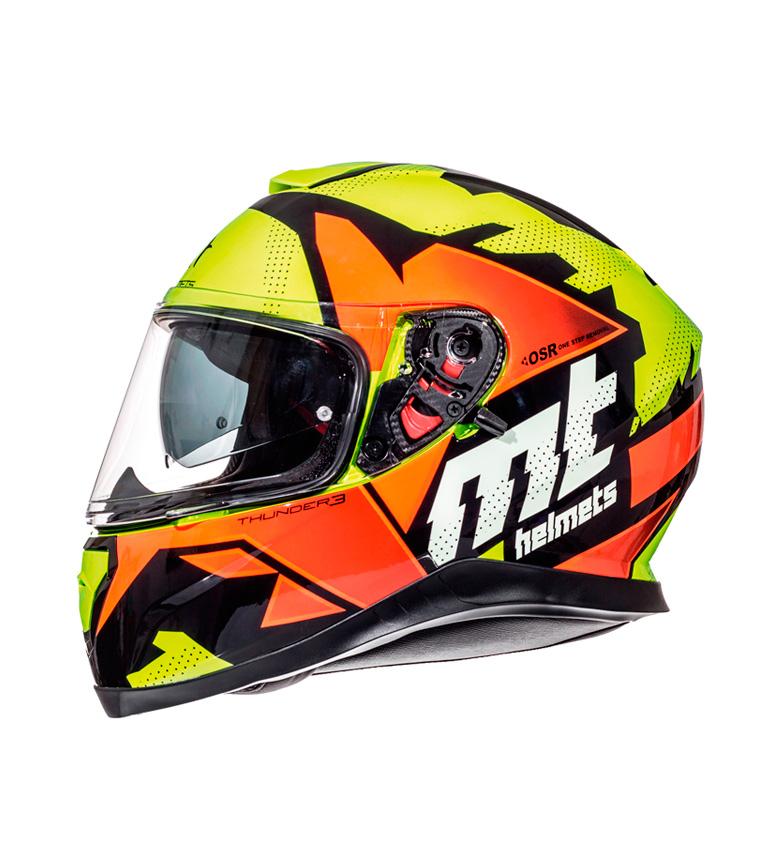 Comprar MT Helmets Casco integral MT Thunder 3 SV Torn amarillo, naranja