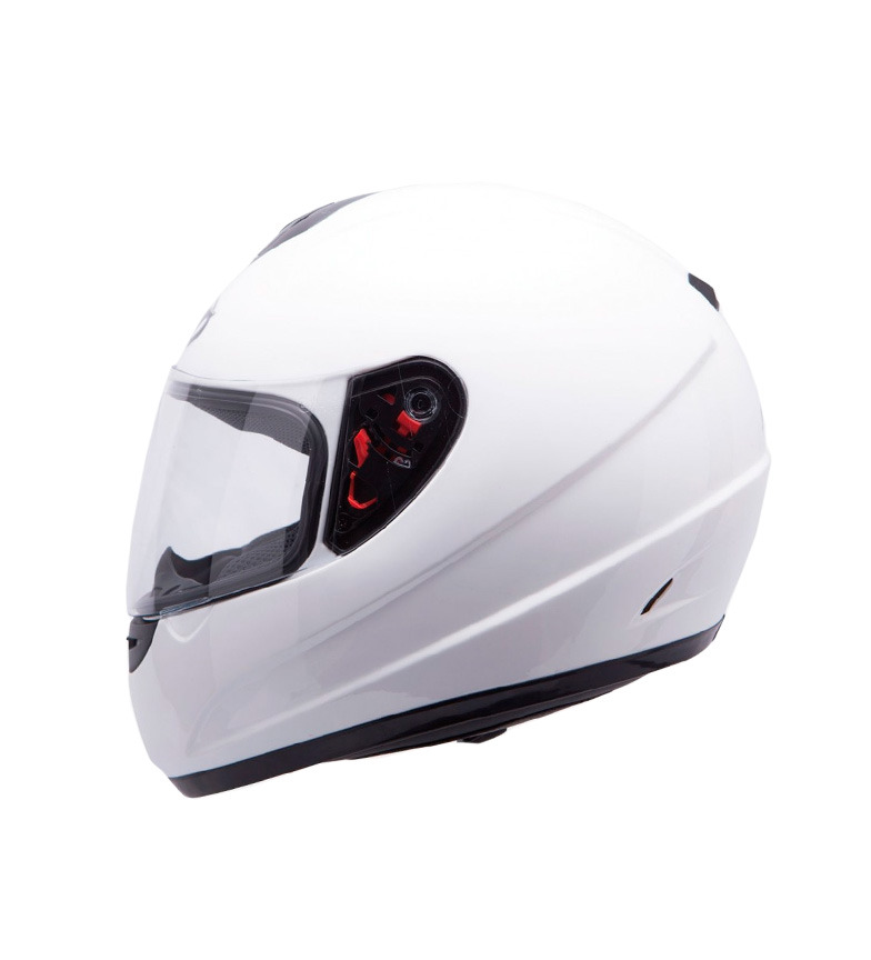 Comprar MT Helmets Casco integral MT Thunder Kids Solid  blanco