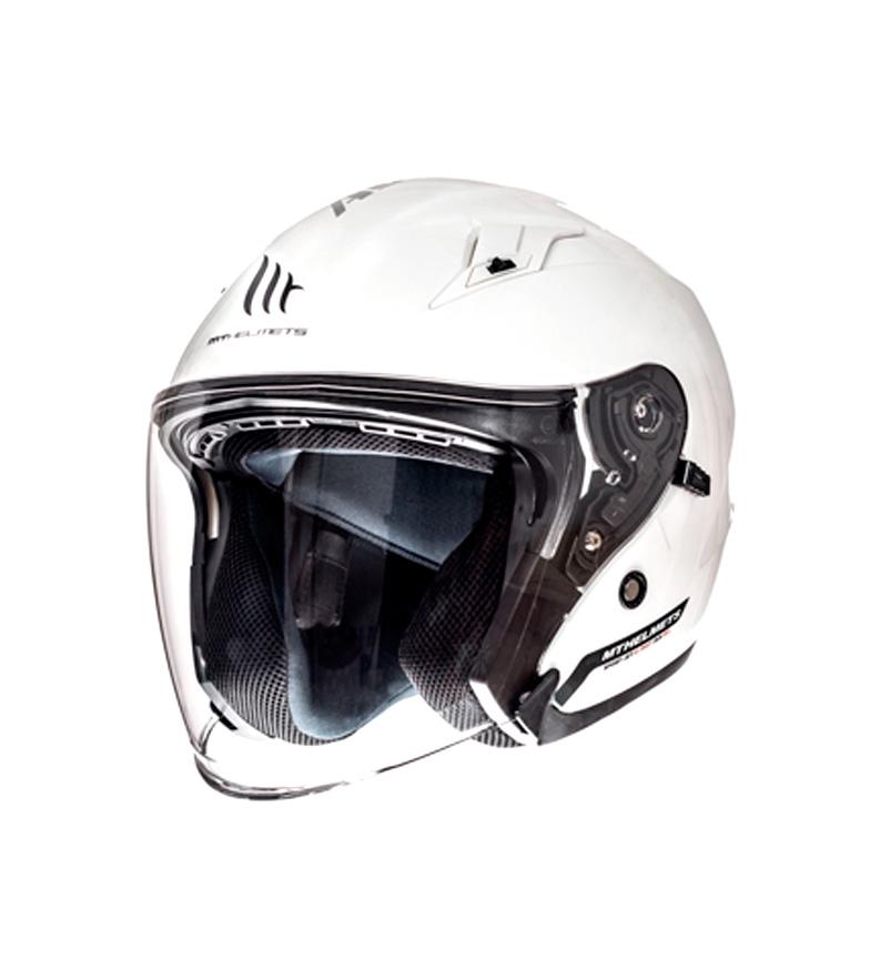 Comprar MT Helmets MT viale SV casco jet Solido Bianco