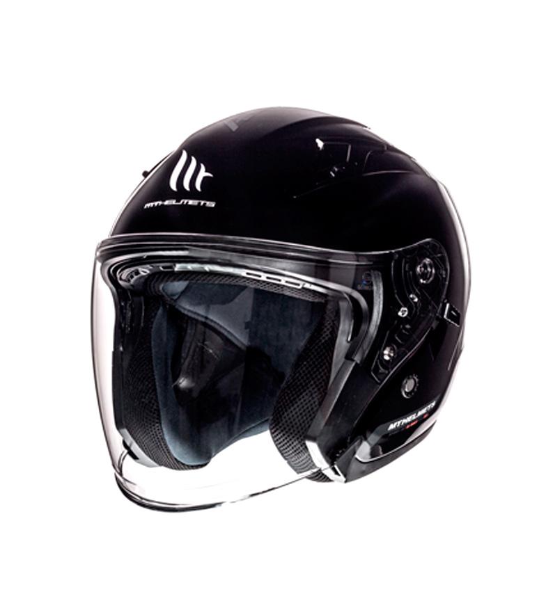 Comprar MT Helmets Capacete jet MT Avenue SV Sólido preto