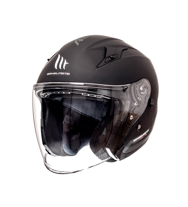 Comprar MT Helmets Casco jet MT Avenue SV Solid negro mate