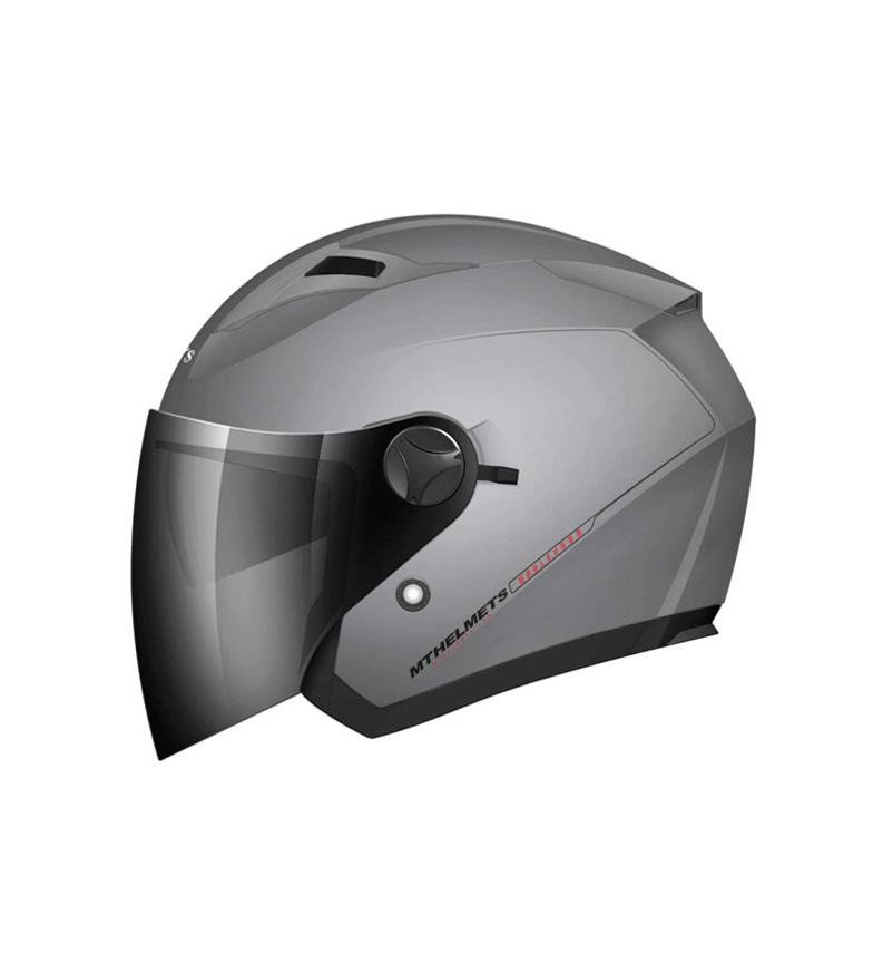 Comprar MT Helmets Casco jet MT Boulevard titanio