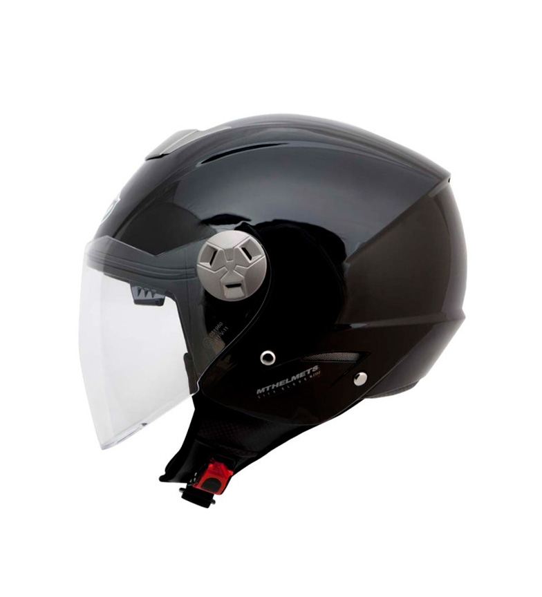 Comprar MT Helmets Jet helmet MT City Eleven SV Solid black gloss