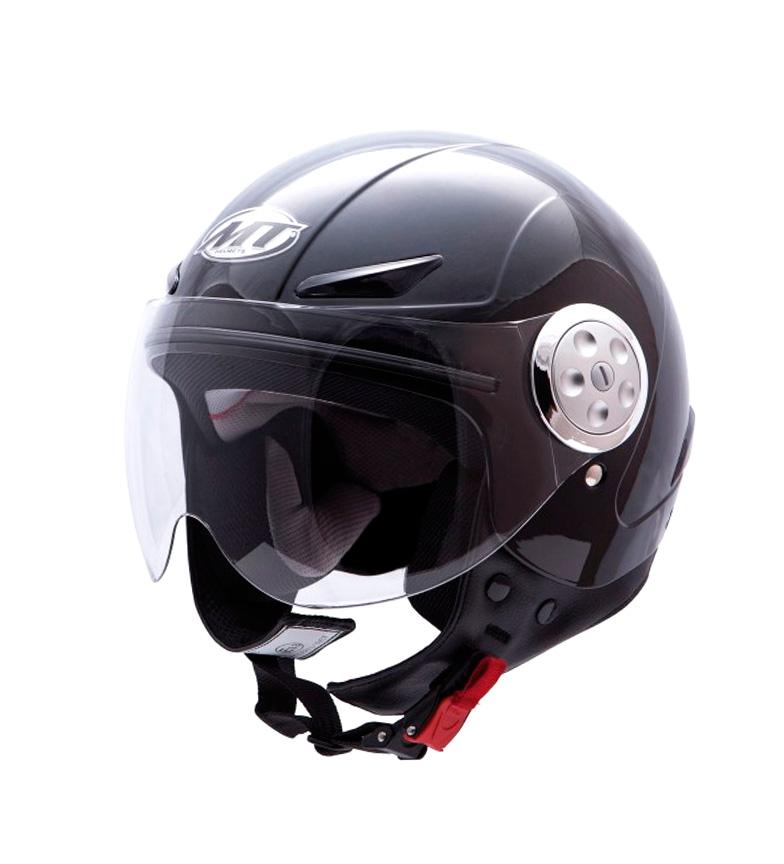Comprar MT Helmets Casco jet MT Urban Kids Solid negro
