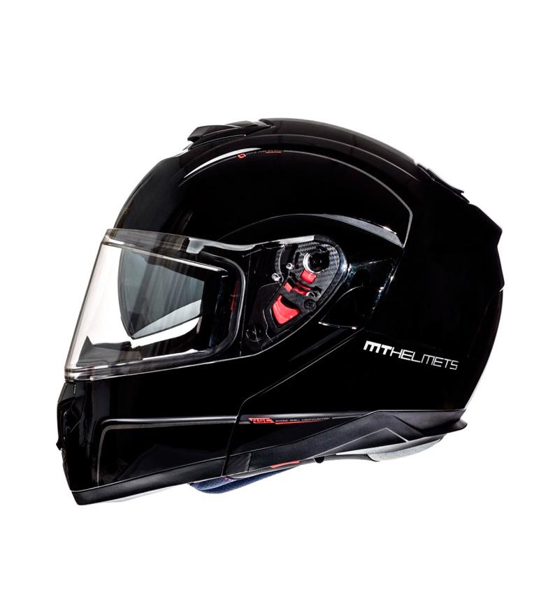 Comprar MT Helmets Casque modulaire noir brillant Atom MT